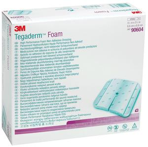 FOAM DRESSING 8IN X 8IN  5/BOX