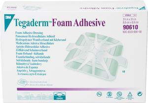 FOAM ADH DRESSING 3.5IN X 3.5IN  10/BX