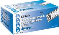 STRETCH BANDAGE ROLL 4IN  STERILE  12/BX
