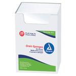 DRAIN SPONGE 4 X4  STER  50/BX