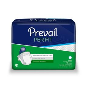 PREVAIL ADULT BRIEFS LARGE  72/CASE