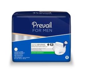 PREVAIL EXTRA ABSORBENCY U/W MEN LARGE 72/CS