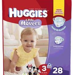 HUGGIES LITTLE MOVERS STEP 5  21/PACK