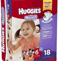 HUGGIES LITTLE MOVERS STEP 6 18/PACK