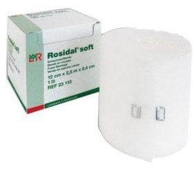 ROSIDAL SOFT 10CMX0.3CMX2.5CM BANDAGE