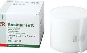 ROSIDAL SOFT 10CMX0.4CMX2.5CM BANDAGE