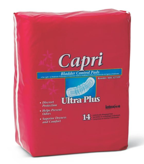 BLADDER CONTROL PADS ULTRA PLUS  126/CS