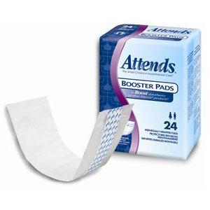 ATTENDS BOOSTER PADS X-ABS 24/PK
