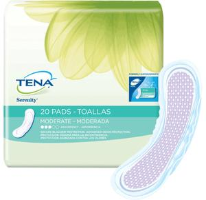 TENA XTRA ABSORB PAD  120/CS
