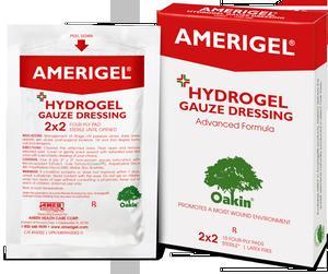 AMERIGEL HYDROGEL GAUZE 2 X 2  10/BX