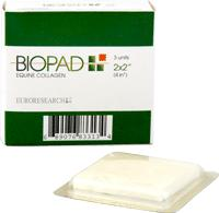 BIOPAD COLLAGEN DRESSING 2IN X 2IN  3/BX