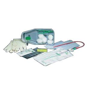 URETH CATH TRAY W/ 15FR CATH AND COLLECTION BAG