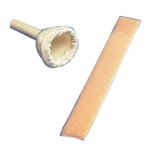 URI-DRAIN MALE 30MM  EXT CATHETER W/ FOAM STRAP