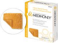 MEDIHONEY CALCIUM ALG  DRESSING 4X5 1/EA