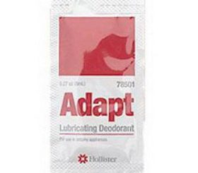 ADAPT LUBRICATING DEODORANT PACKETS 8ML 50/BX