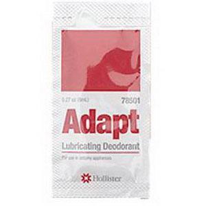 ADAPT LUBRICATING DEODORANT PACKETS 8ML 50/BX