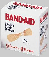 BAND-AID FLEX FABRIC ADH 3/4 X 3 100/BX