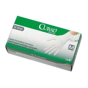 GLOVES P/F CURAD MEDIUM LATEX