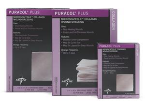 PURACOL PLUS COLLAGEN 4 X 4  1/EACH