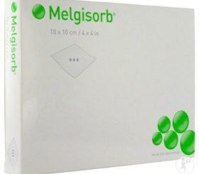 MELGISORB 4 X 4  CALCIUM ALGINATE 10/BX