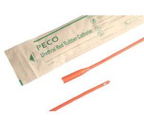 COUDE RED RUBBER 16FR 16IN CATHETER 1/EA