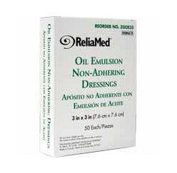 OIL EMULSION 3X3 STERILE 50/BX