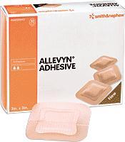 ALLEVYN 3X3 ADHESIVE DRESSING