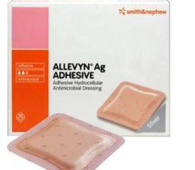 ALLEVYN AG ADH SILVER DRSNG 3X3  10/BX