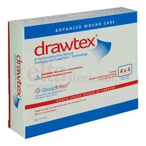 DRAWTEX NON ADH DRESSING 4X4  1/EACH