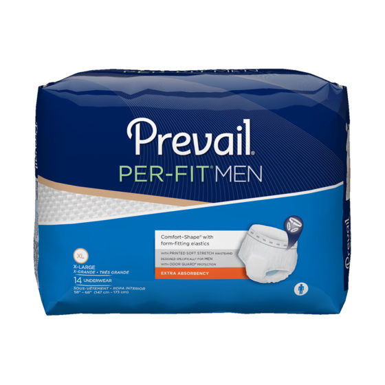 Prevail Underwear Per Fit Pull On X-Large 56/cs